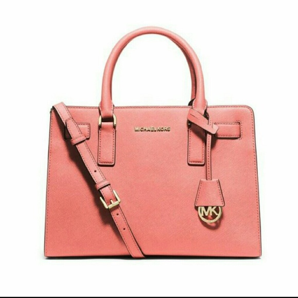 da278db2d0275e Michael Kors Bags | Nwt Dillon Saffiano Leather Satchel | Poshmark