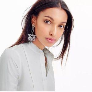 J. Crew Jewelry - ❗️LAST ONE❗️new J. Crew lotus statement earrings