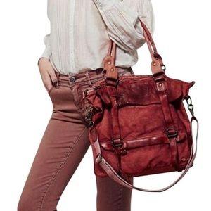 Bed Stu Handbags - BED STU Spring Bag Intricate Rugged Boho Book Tote