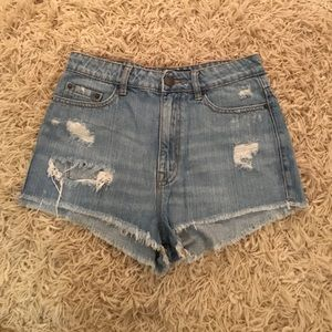 Urban Outfitters Pants - Urban outfitters denim shorts