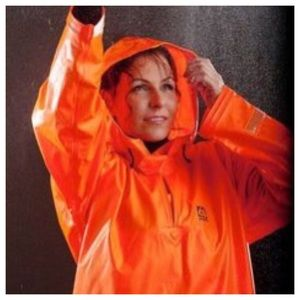 Jackets & Blazers - Orange rain coat!