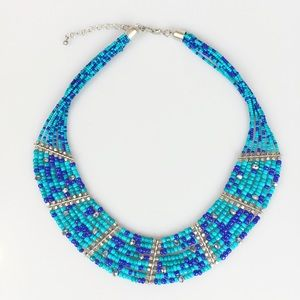 Macy's Beaded Statement Necklace