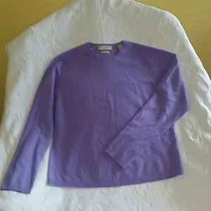 Valerie Stevens Sweater 100 % Cashmere