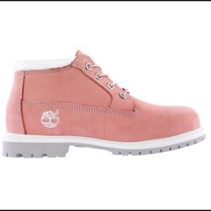 62 timberland shoes 1 hour sale euc pink