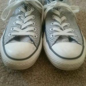 Converse Shoes - Rare Like New GAP+Converse Striped Chucks