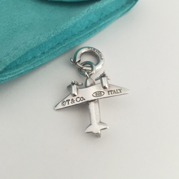 Airplane charm in sterling silver Tiffany & Co. 9EEf4t
