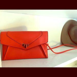 Melie Bianco vegan leather crossbody bag