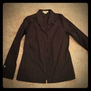 Michael Kors black dress shirt