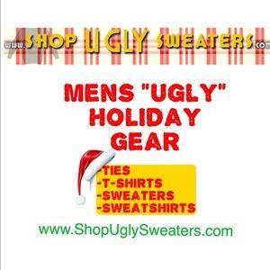Mens Ugly Holiday Clothing