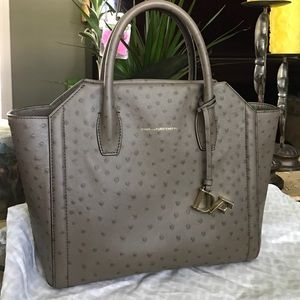 DVF  Stella large Satchel Bag with free twilly wrp