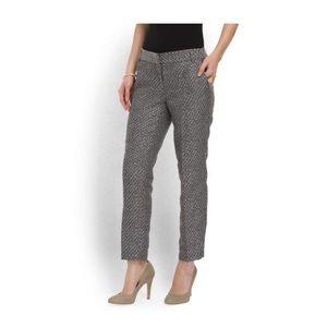 ABS platinum ankle pants