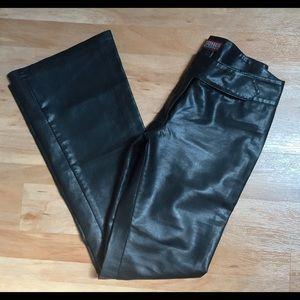 Grauzone Pants - Italian Faux Leather Pants