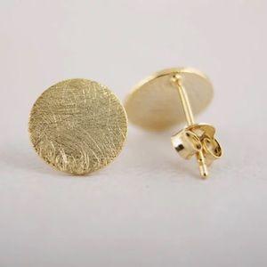 Jewelry - Flat Coin Earrings