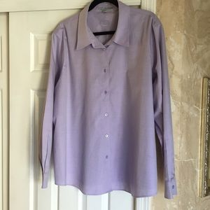 Foxcroft Tops - Foxcroft no iron long sleeve blouse
