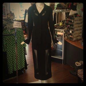 Karl Lagerfeld Dresses & Skirts - Karl lagerfeld vintage suit sheer⬇️⬇️