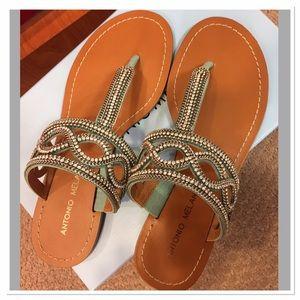 Brand New Antonio Melani Sandals Size 6.5, 7, 8,9