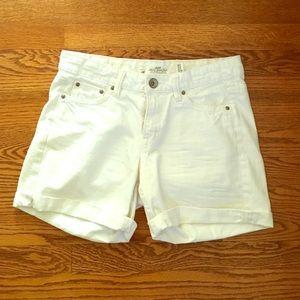 H&M Pants - H&M white denim shorts