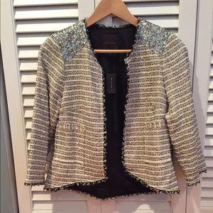 The limited Tweed Blazer SZ. XS