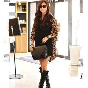 Tops - Leopard Kimono