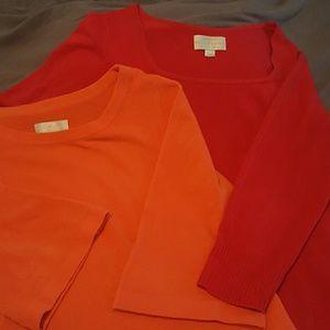NOT FOR SALE Avenue Sweater Bundle Size 18/20