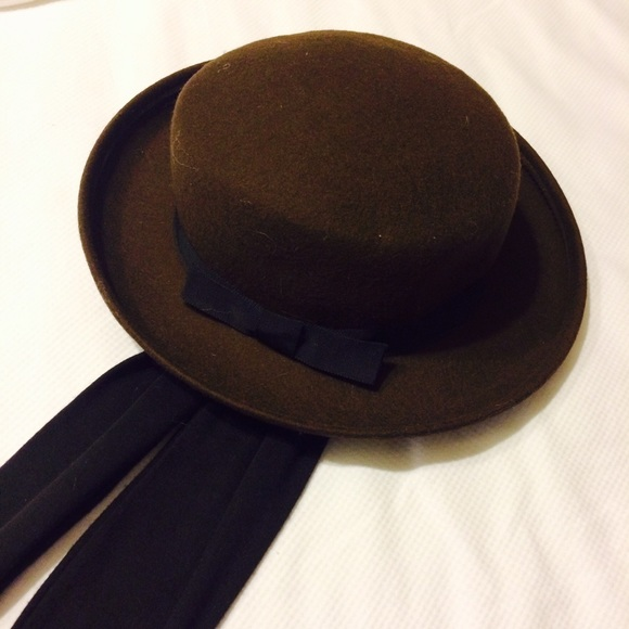 Lloyds Accessories - 100% Wool Hat with Attached Scarf 6374762a765