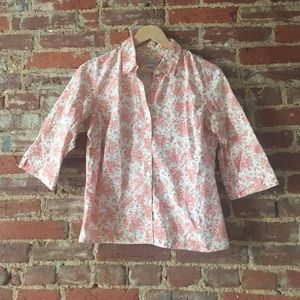 early 90's jcrew button down
