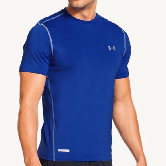 30e3f849 Men's Under Armour HeatGear Sonic Fitted Tee Shirt.  M_57dda139a88e7d2c8201af44