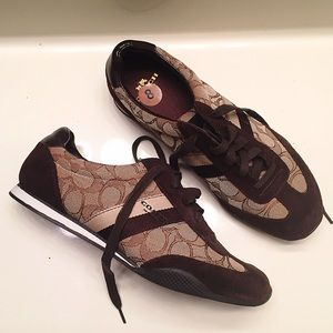 Coach Shoes - NEW [Coach] athletic sneakers women's size 8