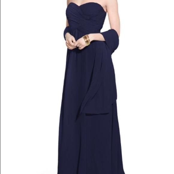 Ralph Lauren Dresses Elegant Ball Gown In Navy Poshmark