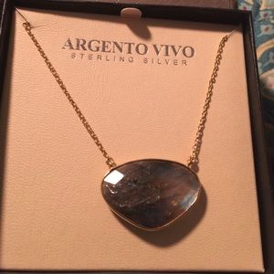 Argento Vivo Labradorite necklace