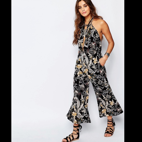 f89f341e7762 🎈EXTRA 50% OFF🎈FREE PEOPLE! Printed jumpsuit