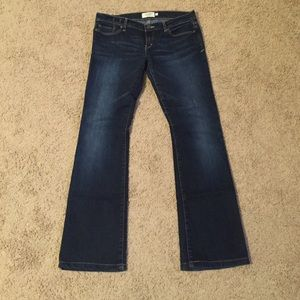 Abercrombie & Fitch boot cut jeans size 4R.