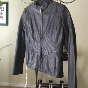 Great T Tahari leather jacket