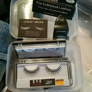 Set of 4: Lash Kit! NWT with  Armani Gems & more