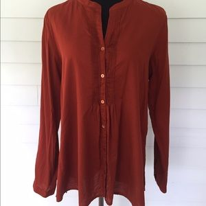 Eileen Fisher Tops - Eileen Fisher button down shirt--size Large