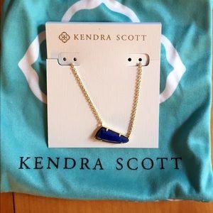 New Kendra Scott Pendant Necklace in Lapis