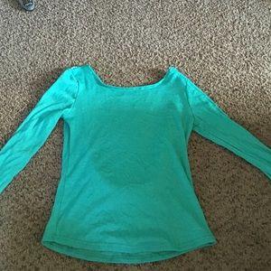 Tops - Low back shirt