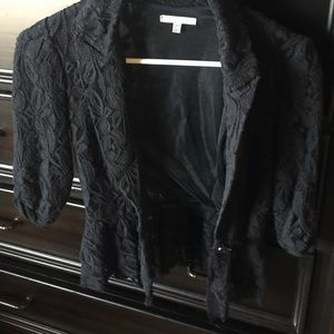 Charlotte Russe lace blazer
