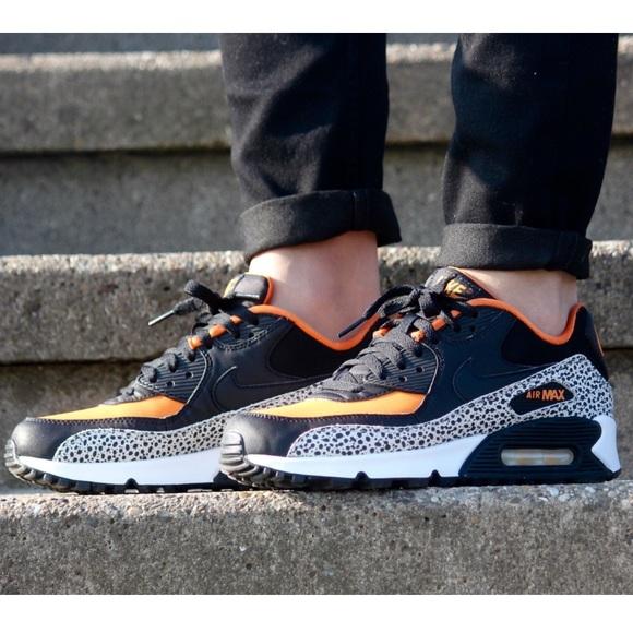 air max 90 orange safari