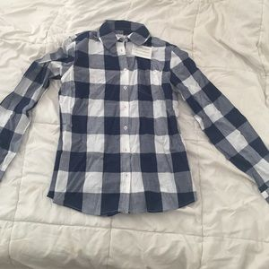 Shabby Apple Tops - Shabby Apple Plaid Button Down Shirt!