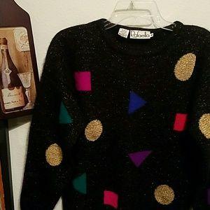 Rafaella Angora Holiday Sweater