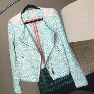 Zara - Printed Blazer Jacket