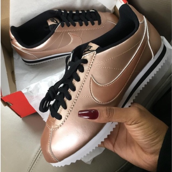 finest selection 9f820 cb124 switzerland nike cortez black rose gold fcac6 668e3