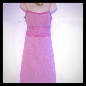Benetton wool lace velvet dress size XS
