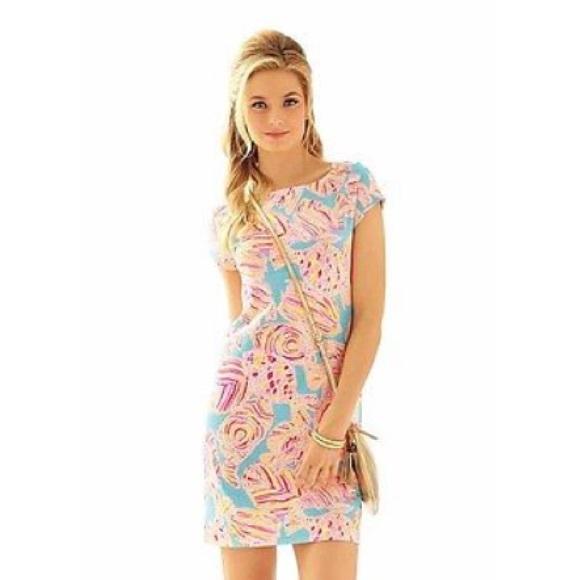 64e1de97d73b19 Lilly Pulitzer Dresses | Loren Short Sleeve Boa Dress | Poshmark