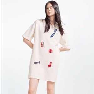 Zara Dress with patches