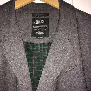 Publish Jackets & Blazers - NWT Gray Rafik Publish Macintosh coat