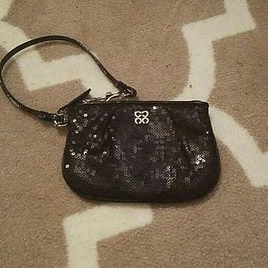 Coach Handbags - Coach small sequin wristlet