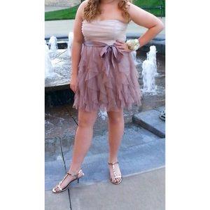 Teeze Me Dresses & Skirts - Ruffled Homecoming or Formal Knee Length Dress