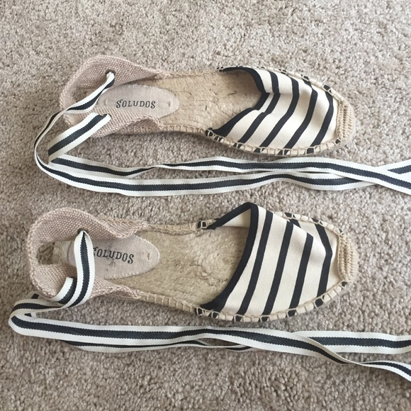 Soludos Shoes - Soludos striped espadrilles